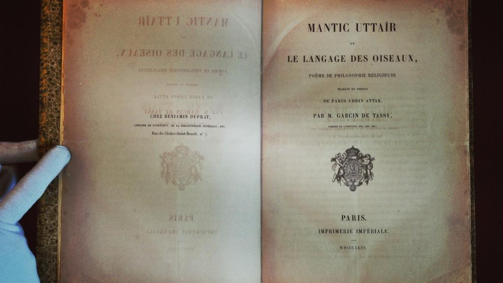 Mantic Uttair Ou Le Langage Des Oiseaux 60 Años De La